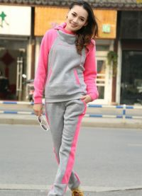 Modne športne obleke za dekleta 9