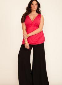 modne hlače za debele ženske 1