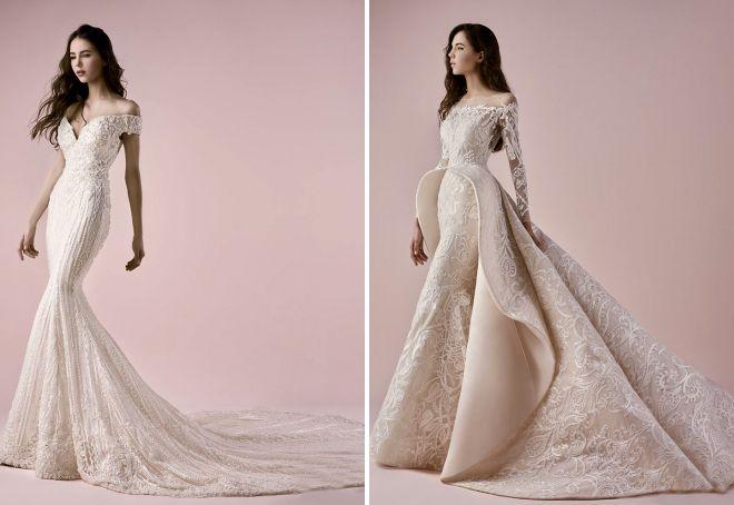 piękne modne suknie ślubne