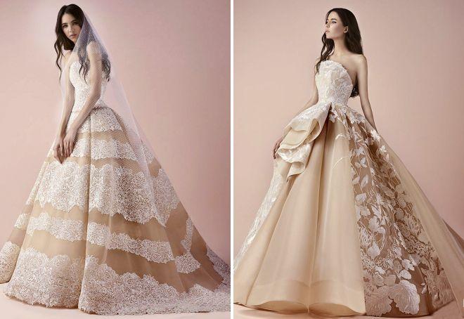 Modne kolory sukien ślubnych