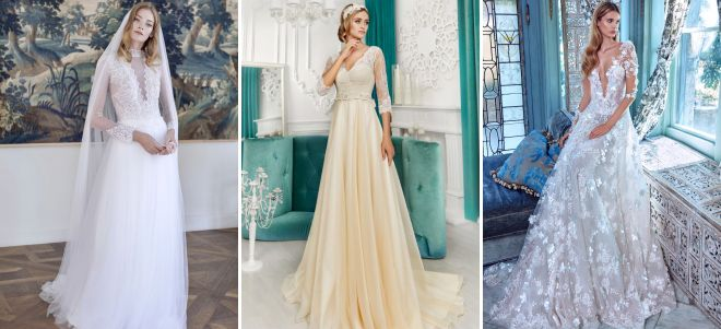 trendy mody sukien ślubnych