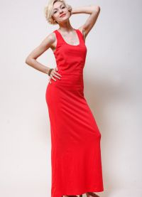 Modni modeli poletnih oblek in sarafanov8