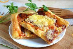 Przepis na szybką pizzę w piekarniku bez drożdży