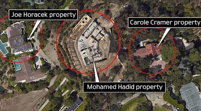 Дворец Хадида в Бэль-Эйр