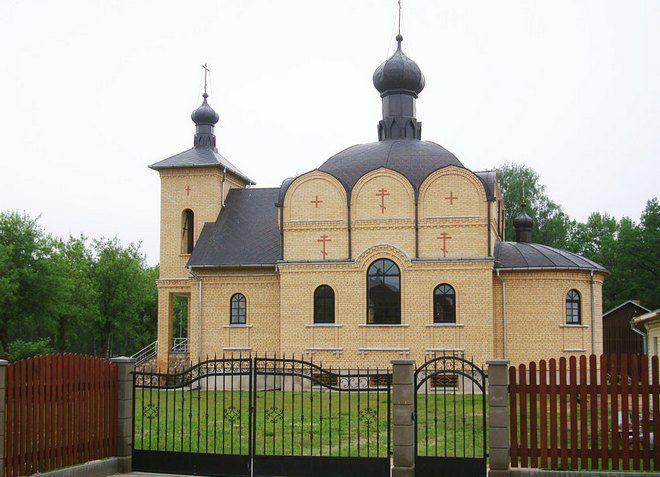 Церковь Иверской Божьей Матери