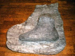 filcowanie filcowych butów 12