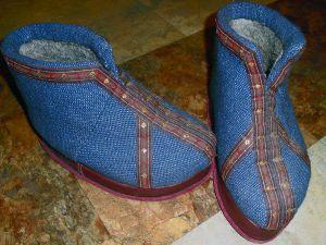 filcowanie filcowych butów 24
