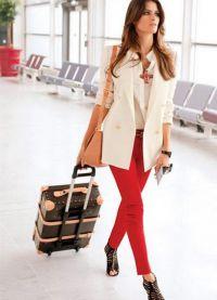 Ženske klasične hlače so se zožile na dno15