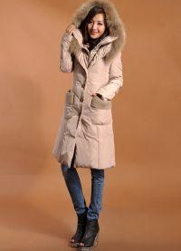 dámská dlouhá bunda 5
