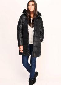 dámská dlouhá bunda 8