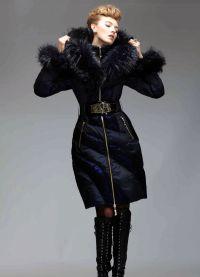 dámská dlouhá bunda 9