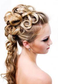 svečanih visokih frizura
