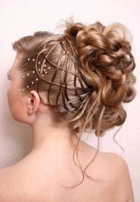 frizure za srednje duljinu svečane