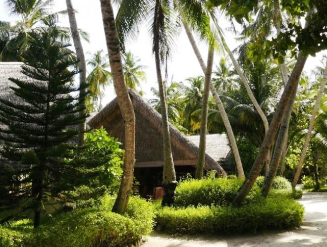 Территория отеля Фихалхохи