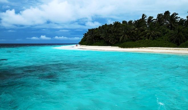 Пляж на острове Фихалхохи