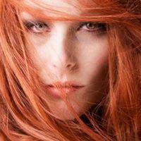 огненочервен цвят на косата 7