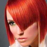 ватрена црвена боја боје косе 2