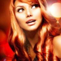 огненочервен цвят на косата 6