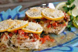 Grecka ryba w piekarniku