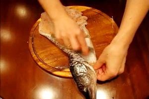 како сјечити рибу за пуњење 8