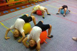 фитбалл гимнастика у вртићу