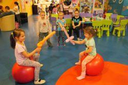 фитбалл гимнастика за предшколце