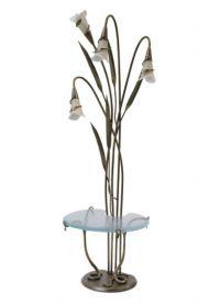 Lampa podłogowa ze stołem 11