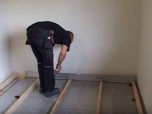 Podovi u privatnoj kući s vlastitim rukama 18