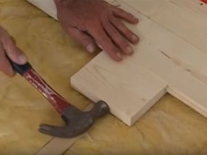 Podovi u privatnoj kući s vlastitim rukama 27