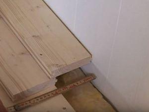 Podovi u privatnoj kući s vlastitim rukama 29