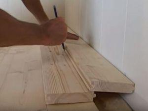 Podovi u privatnoj kući s vlastitim rukama 30