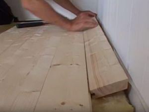 Podovi u privatnoj kući s vlastitim rukama 32