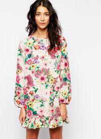 sukienka z kwiatami 2015 20