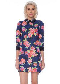 Sukienka z kwiatami 2015 21