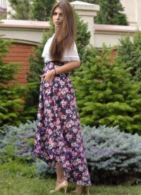Sukienka z kwiatami 2015 9