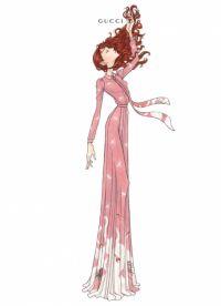 Бренд Gucci создал концертные наряды для Флоренс Уэлч