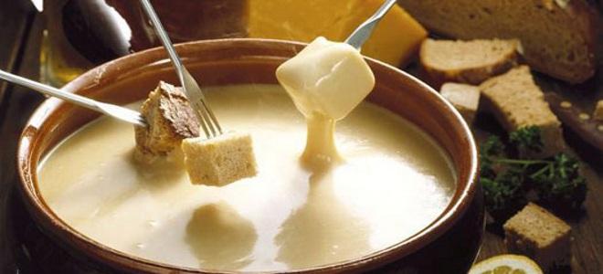 przepis na serowy fondue