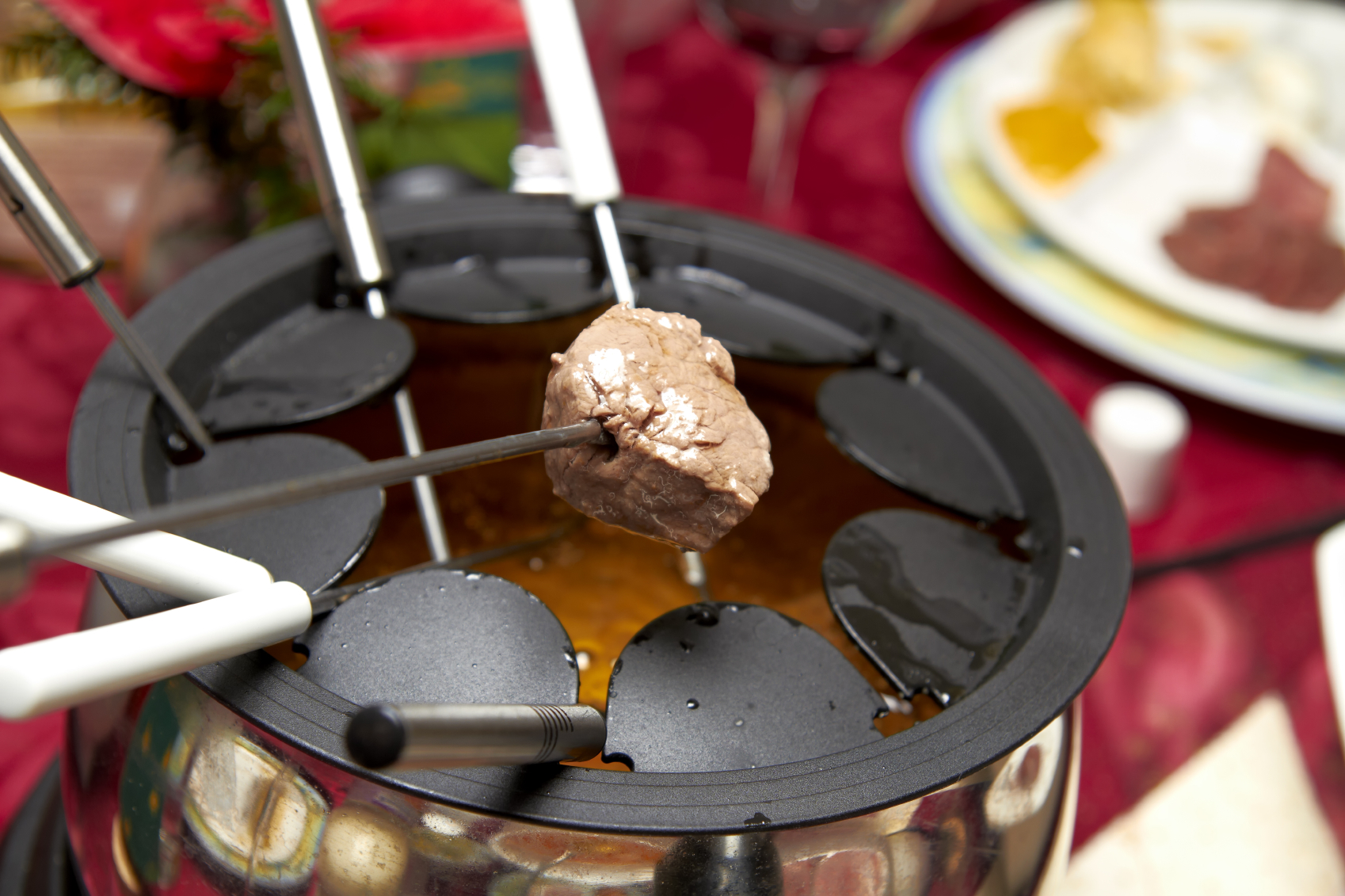 fondue mięsne