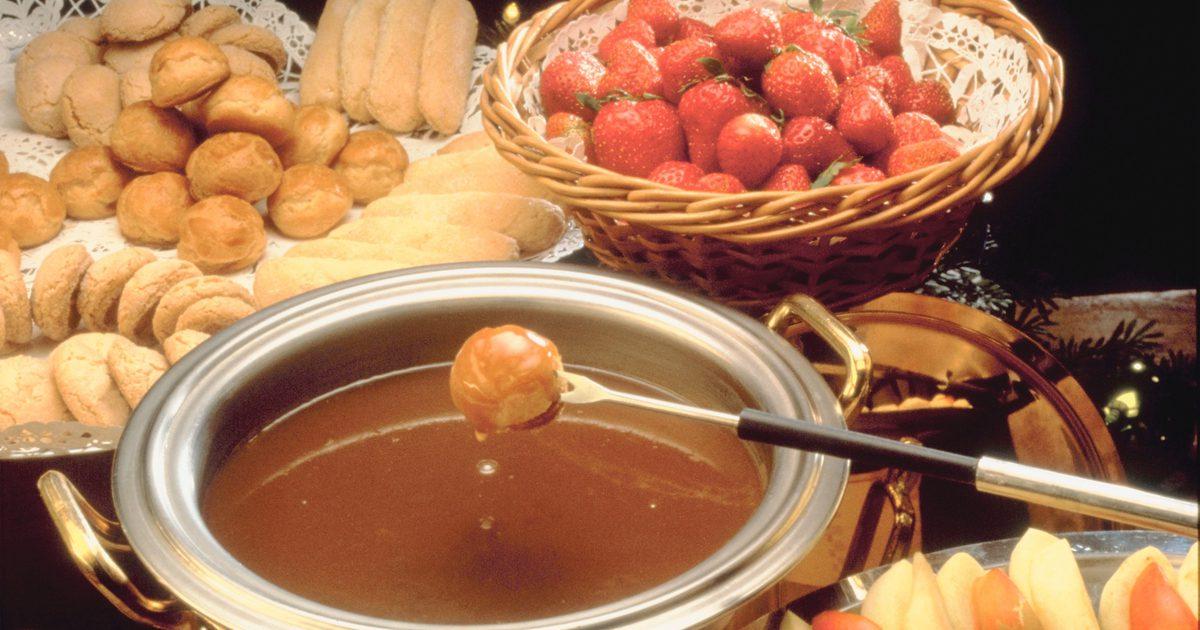 karmelowe fondue