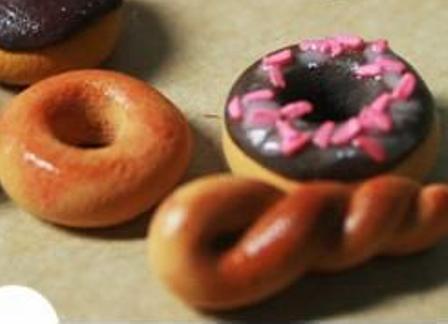 храна од полимерске глине 9