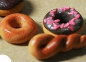 храна од полимерске глине 10