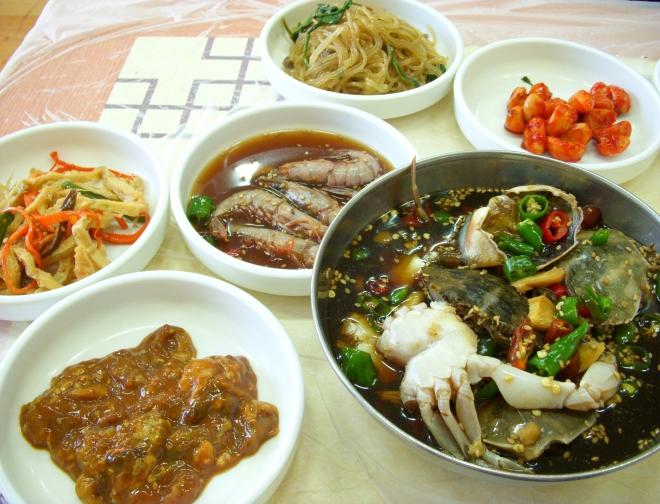 Обед корейца