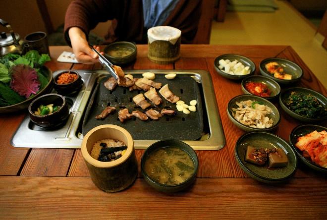 Национальные блюда Кореи