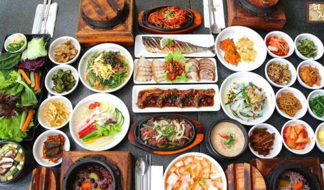Еда в ресторанах Южной Кореи