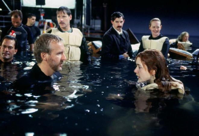 Работа над фильмом Титаник
