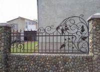 Ogrodzenia z kutego żelaza7