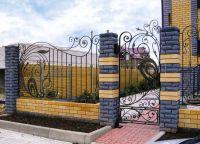 Ogrodzenia z kutego żelaza9
