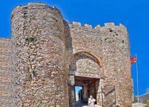 Вход в крепость царя Самуила