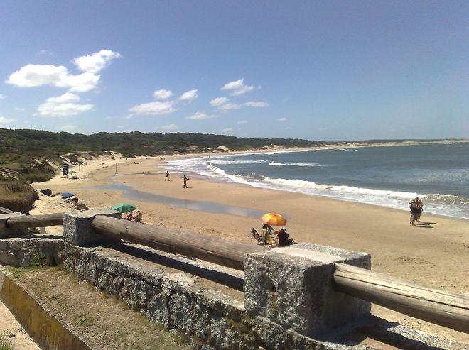 Вид на атлантическое побережье со стороны крепости
