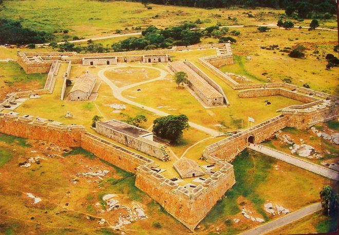 Вид на крепость святой Терезы